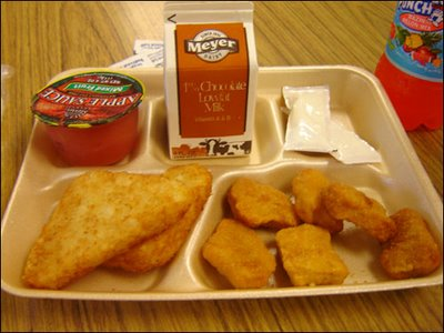 CBS School Lunch Report Shows French Lunches