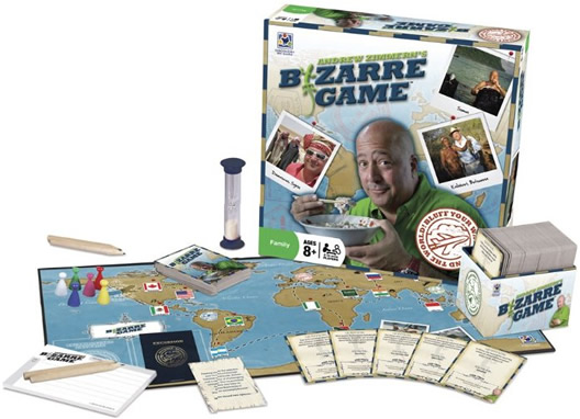 Andrew Zimmern Board Game