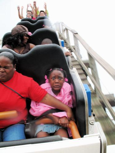 Scared of roller coasters