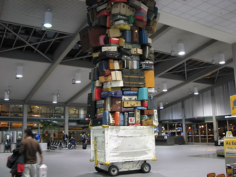 to much luggage