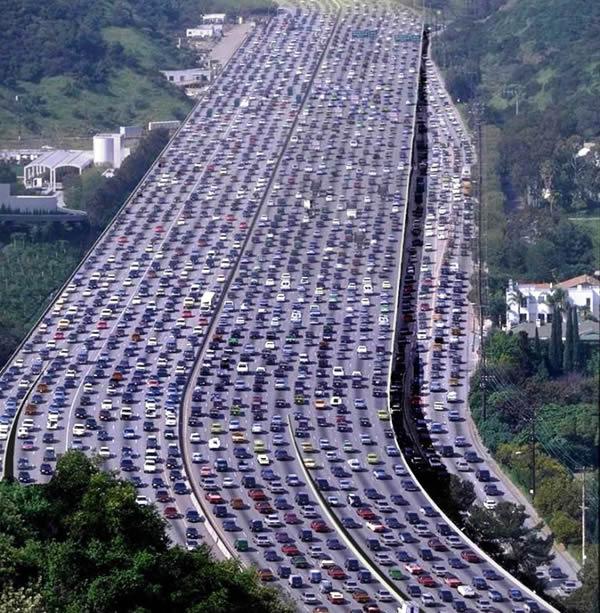 labor day traffic