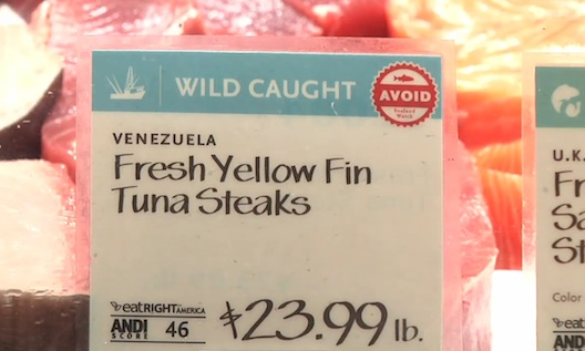 whole foods seafood labeling