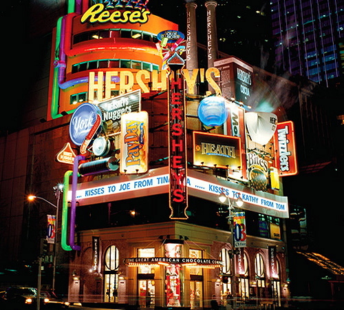 Hershey-chocolate-electric-signs