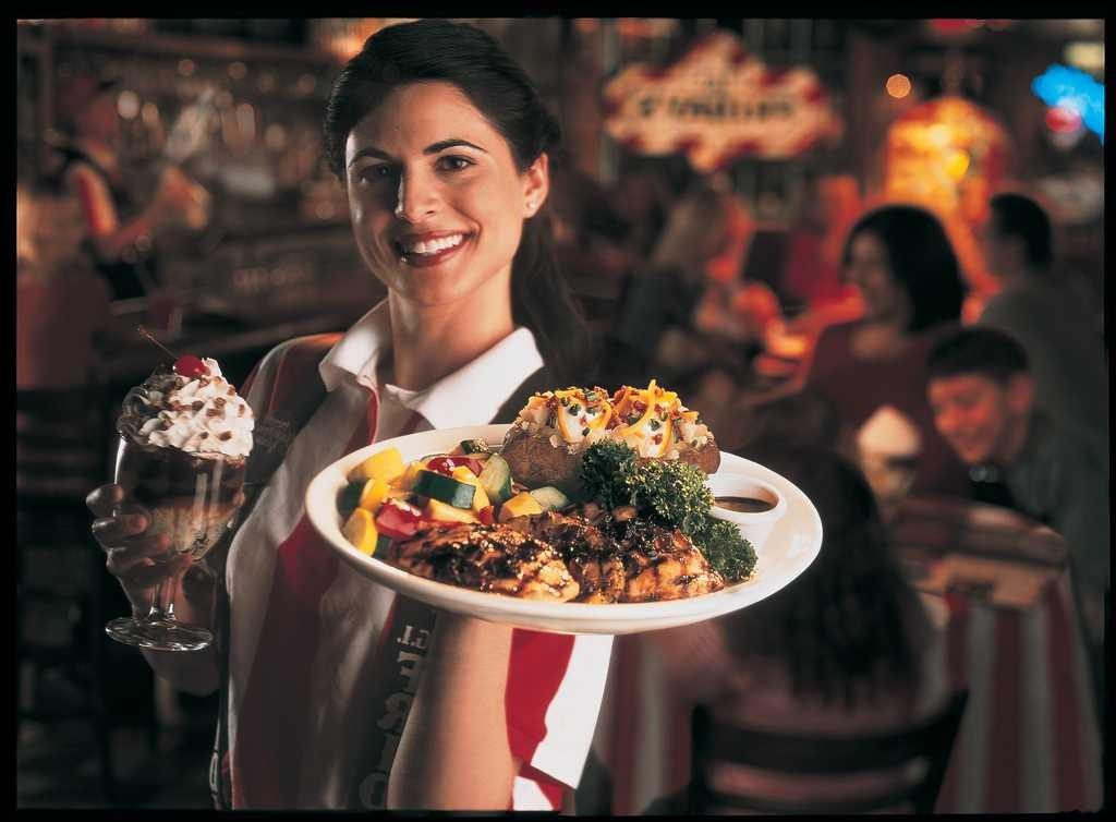 Server-Woman
