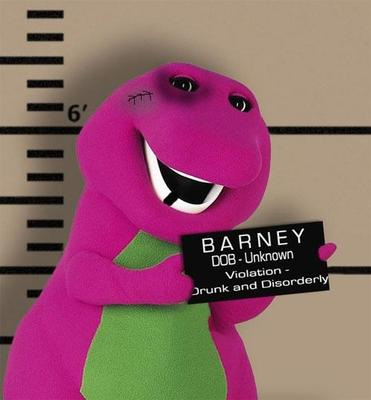 barney drunk and arrested