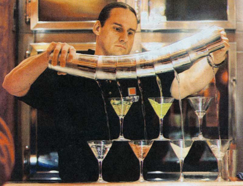 bartender tricks