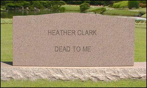 you are dead to me tombstone