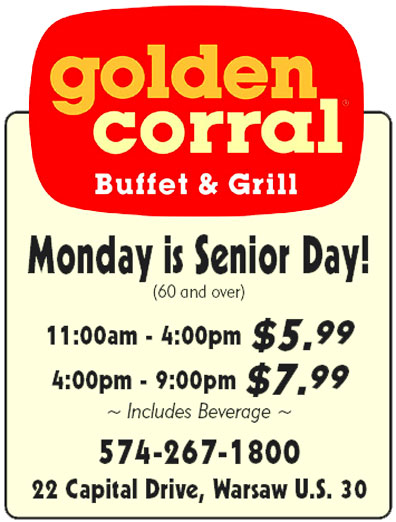 golden corral senior discount