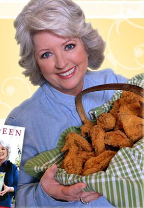 paula deen deep fry chicken