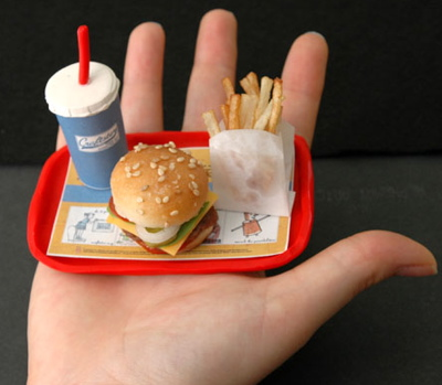 portion control at fast food