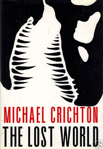 Michael Crichton the lost world book cover