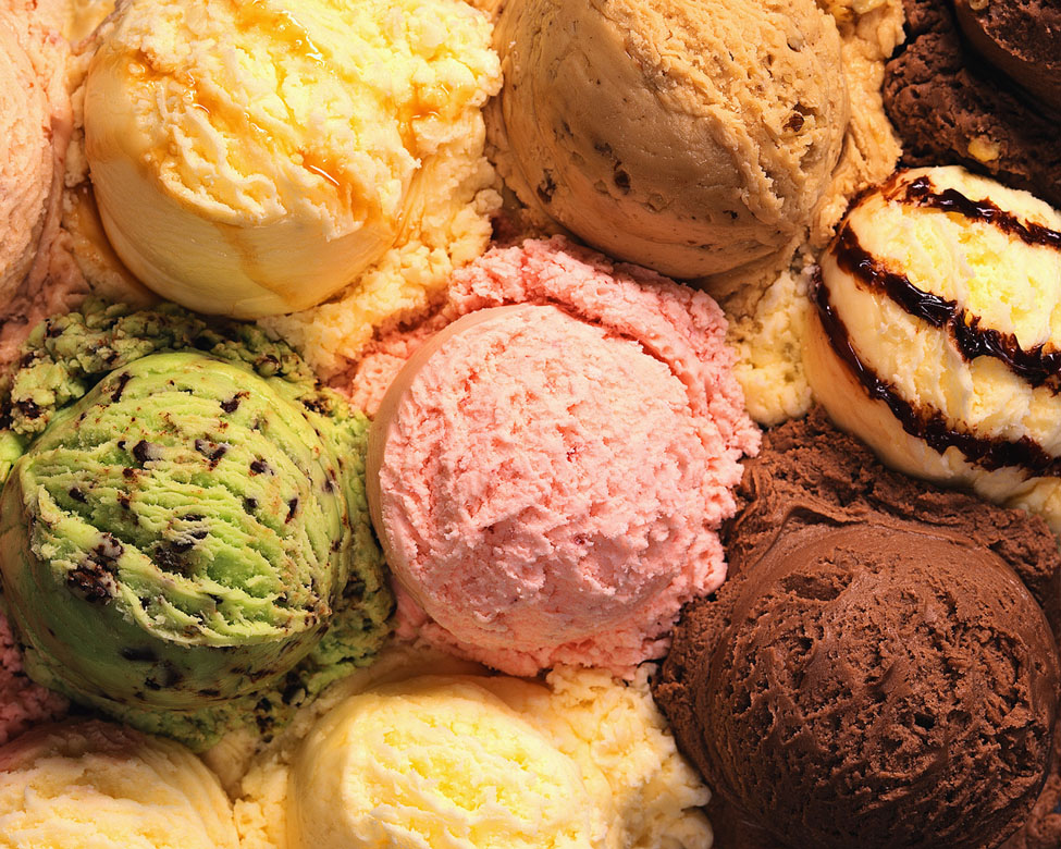 various-ice-creams