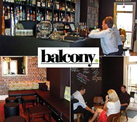 Australian chef steals my scarface fantasy at balcony bar for The balcony bar sydney