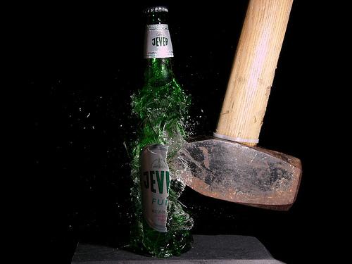 bottle-smash